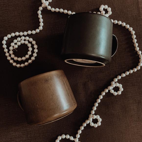 Rustic Starbucks Mugs Set of 2 10oz Mugs